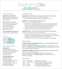 Free Examples Of Resumes by Super Cool Ideas Latex Resume Template 8 15 Templates Free Samples