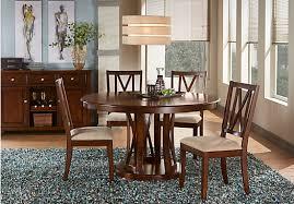 sullivan round dining table sullivan way merlot 5 pc round dining set dining room sets room
