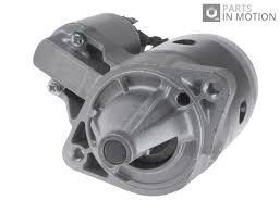 starter motor fits mitsubishi carisma 1 8 95 to 06 4g93 auto blue
