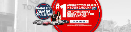 toyota usa customer service toyota dealership charleston sc summerville mount pleasant