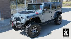 grey jeep rubicon lifted kc trends showcase kc trends rugged ridge jeep wrangler