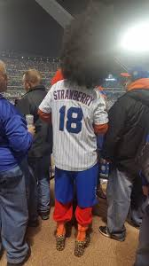 fans dressed up in halloween costumes during the world series and