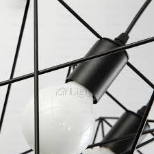 Modern Black Pendant Light E27 3 Light Modern Industrial Pendant Lighting