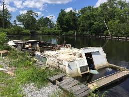 whatever happened to the rotting abandoned boat on the