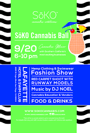 soko cannabis ball wednesday september 20 2017 6 p m to 10