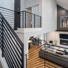 metal landing banister and railing photos hgtv