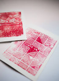 block print s day cards