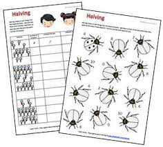 halving to 10 free printable worksheet and game what2learn