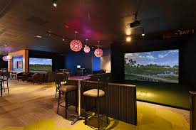 indoor golf design golf simulator sports simulator