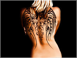 tattoos with wings on back