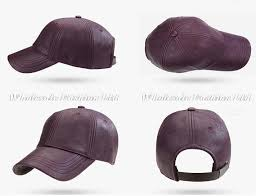 bulk hats 24pcs brand blue leather baseball caps 2016