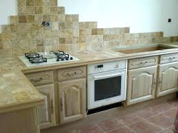 installer un plan de travail cuisine coller un plan de travail sur du carrelage cuisine plan travail