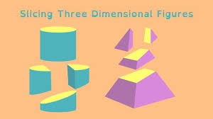 slicing three dimensional figures math video pbs learningmedia