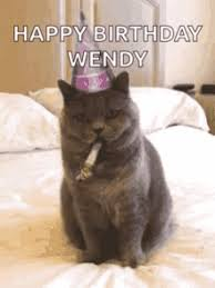 Birthday Meme Cat - grumpy cat happy birthday meme gifs tenor