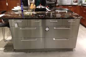 stainless kitchen island how to choose and maintain stainless steel kitchen island for