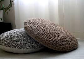 Upcycled Pillows - stylish floor cushions