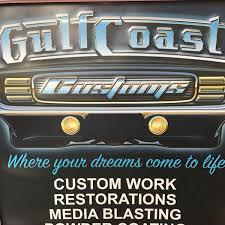 gulf car logo gulf coast customs in mandeville la 985 778 2