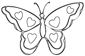 heart wings coloring free download