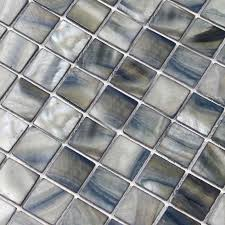 shell tile backsplash mother of pearl mosaic painted shell tile backsplash kitchen bk009