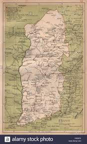 China Province Map Shansi Shanxi China Province Map Taiyuanfu Stanford 1908 Old