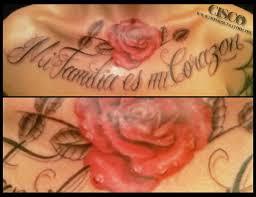 custom script and rose tattoo monroe tattoo parlor orangevale