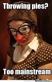 Funny Clown Memes - hipster clown by moocartoon meme center