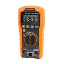 klein tools auto ranging digital multi meter mm400 the home depot
