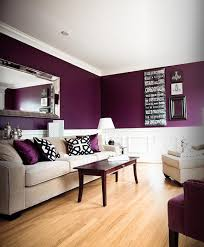 interesting living room paint color ideas purple purple living