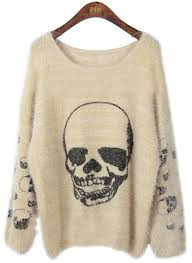 skull sweater 31 best sweaters images on clothing apparel
