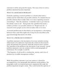 Best Way To Write An Objective For A Resume by How To Write A Statement Problem