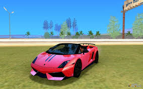 lamborghini gallardo performante gallardo lp570 4 spyder performante for gta san andreas