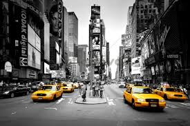 top 5 fascinating city wall murals times square cabs colorsplash wall murals 2