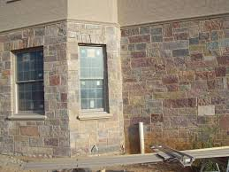 inspiring color faux stone wall panels for exterior decor ideas