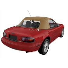 miata mazda miata convertible top 1989 2005 light tan cabrio vinyl