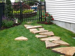 Rock Patio Design How To Make A Patio Stone Walkway Home Outdoor Decoration