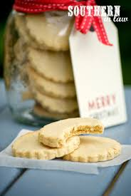 southern in law recipe healthier shortbread cookies
