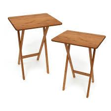 folding tray table espresso walmart com
