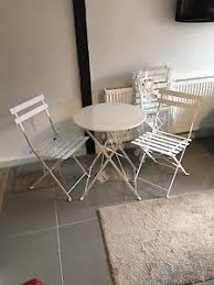 Tesco Bistro Table White Tesco Bistro Garden Furniture Set Table And 4 Chairs Summer