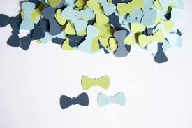 bow tie baby shower decorations bow tie confetti baby shower baby boy shower
