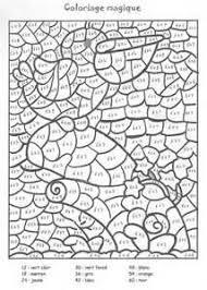 coloriage coloriage magique 2 ecole pinterest cycling math