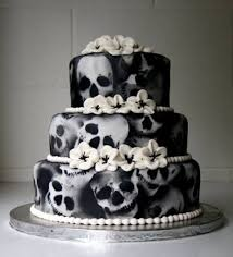 skull wedding cakes killer skull wedding cake horrific finds