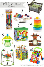 Top 10 Must Baby Items by Top 10 Must Haves For Babies 6 12 Month Baby Equipment