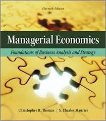 Mcgraw Hill Desk Copies Managerial Economics Foundations Of Business Analysis And