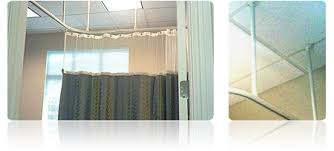 Commercial Curtain Track Cubicle Curtain Track U0026 Hardware Hospital Curtain Tracks