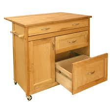 kitchen island with drawers kitchen island cart with deep drawers u0026 drop leaf