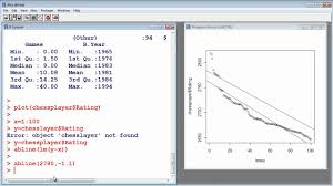 Linear Regression Table R Tutorial 10 Linear Regression Youtube