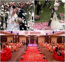 silk petals artificial petal 100pcs cheap silk flower petals wedding