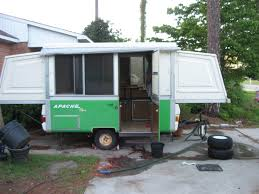 1978 apache pop up trailer vintage travel pinterest camping