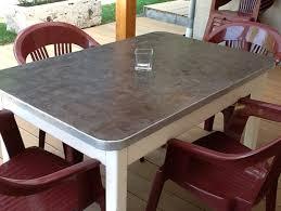 transformer une table de cuisine toutes les idées déco en béton ciré à faire soi même