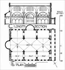 floor plan of st mark the basilica is in the shape of a greek